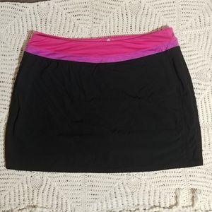 Tangerine Athetic Skort Skirt Shorts Tennis